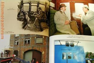 シャーロック・ホームズの冒険 ジェレミー・ブレット 撮影風景